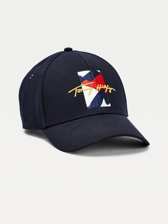 TH Signature Abstract Embroidery Cap
