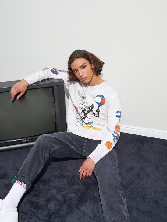 Tommy Jeans X Space Jam Tie-Dye Unisex T-Shirt