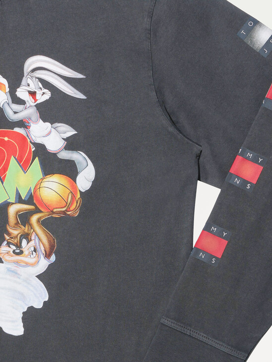 Tommy Jeans X Space Jam Long Sleeve Unisex T-Shirt