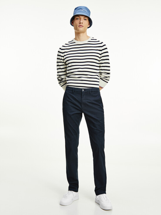 Denton Fitted Straight Leg Trousers