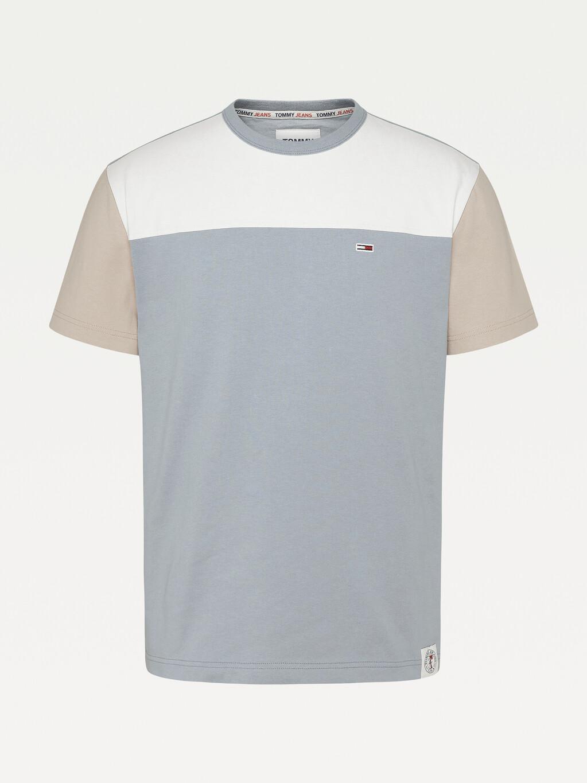 Tonal Colour-Blocked T-Shirt