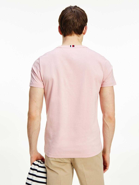 Logo Embroidery Organic Cotton T-Shirt