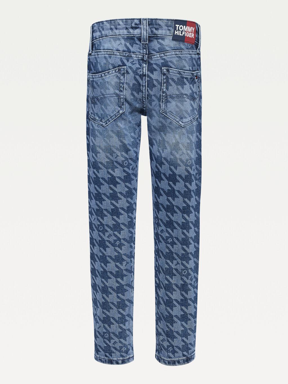 Spencer Slim Houndstooth Jeans