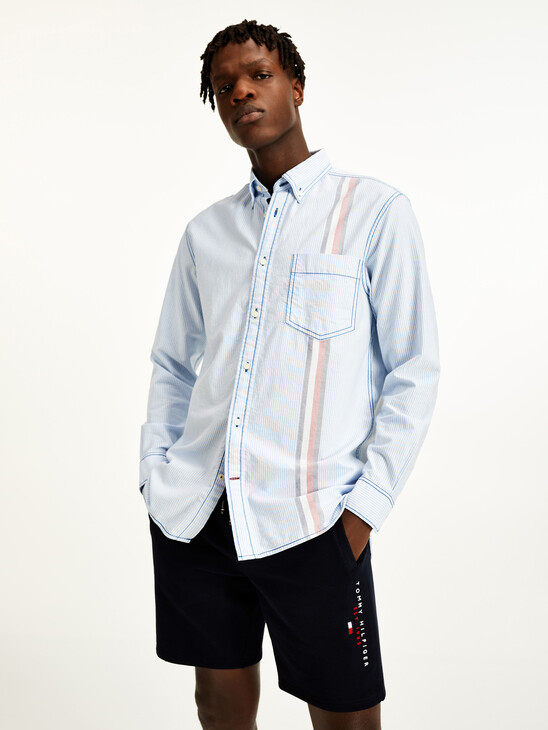Icons Ithaca Stripe Relaxed Fit Shirt