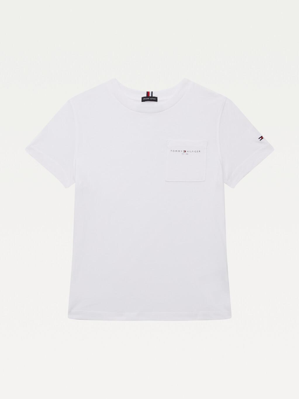 Essential Organic Cotton Chest Pocket T-Shirt