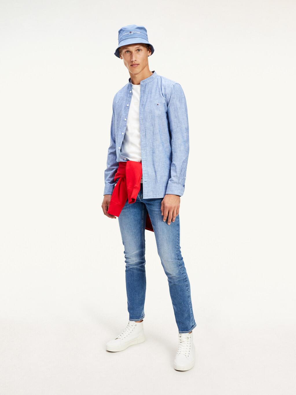 Chambray Slim Fit Shirt