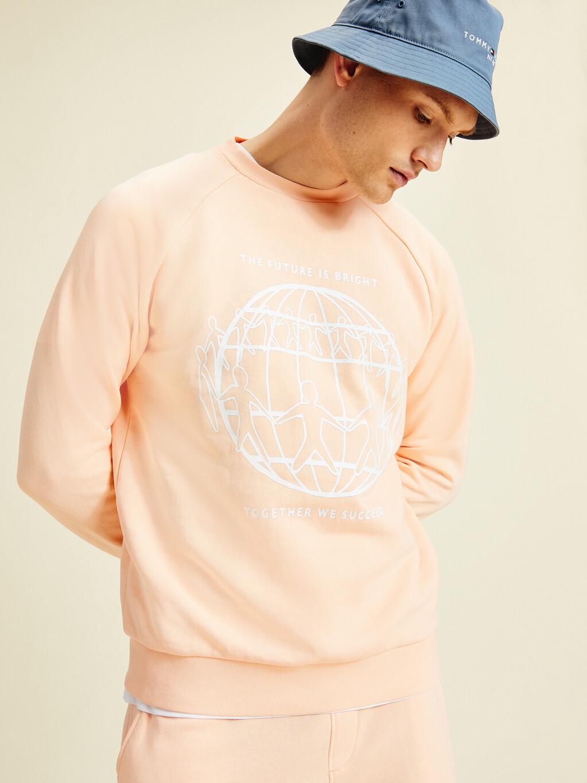 Earth Day Crew Neck Sweatshirt