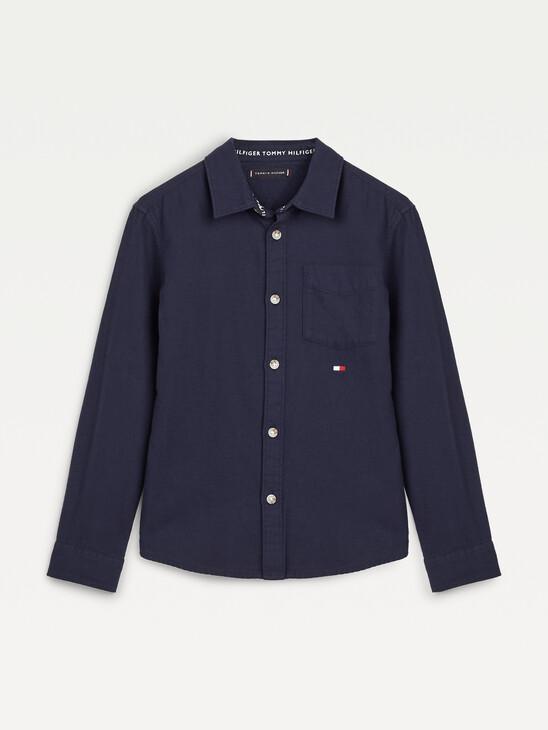 Back Logo Flannel Shirt