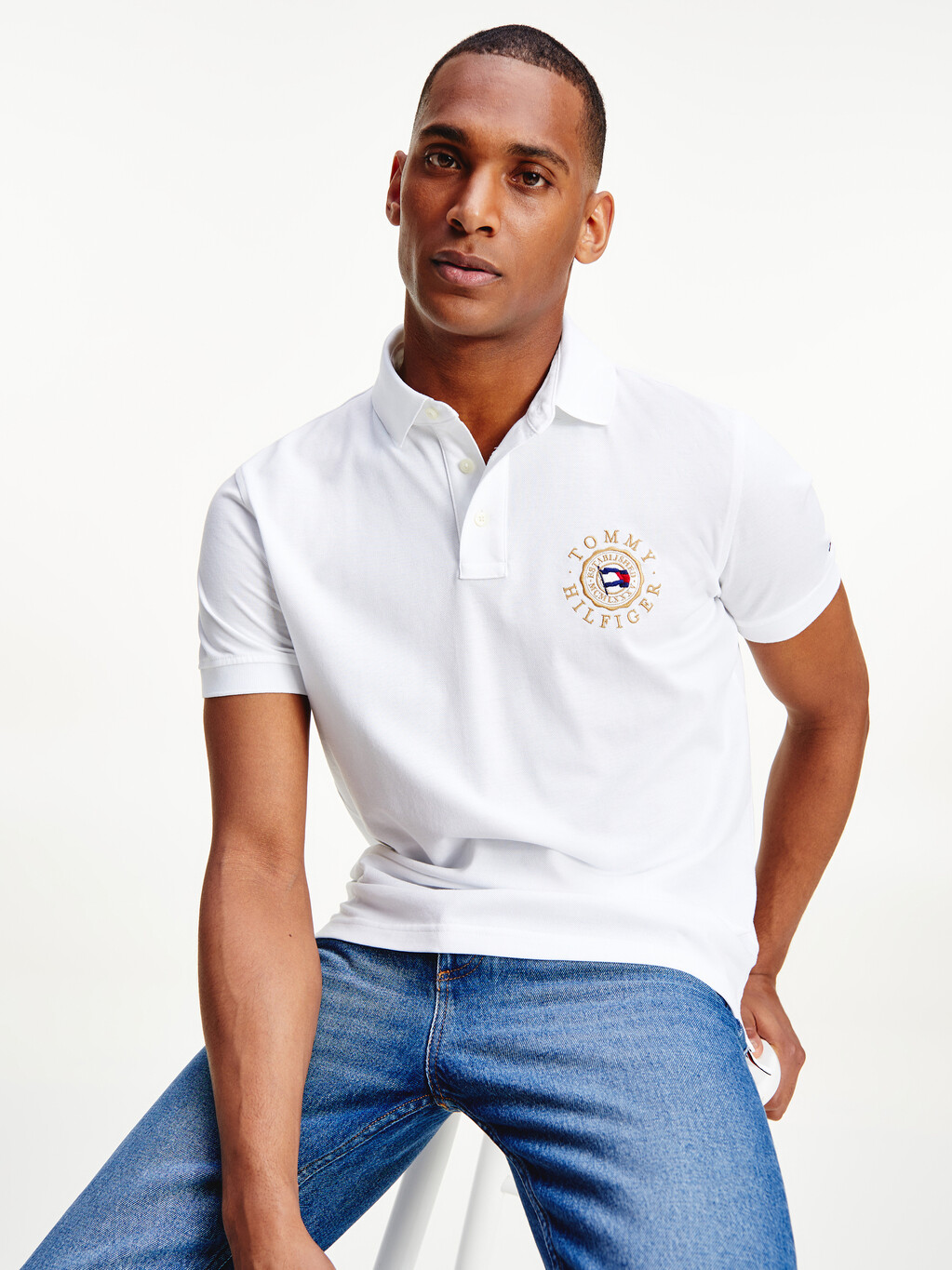 Tommy Icons Logo Embroidery Polo