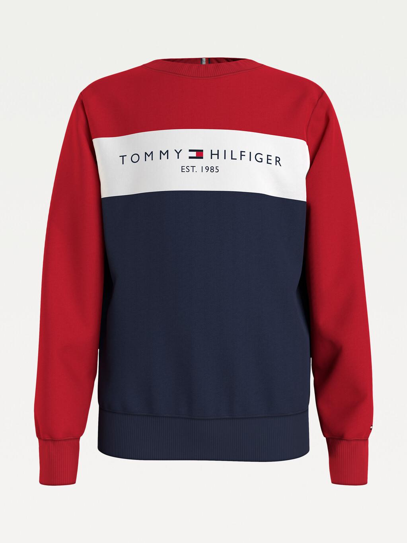 Essential Colour-Blocked Sweatshirt