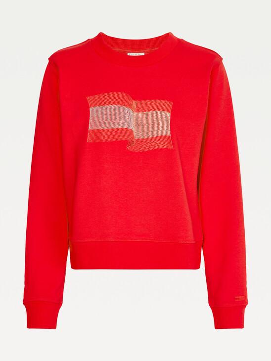 Tommy Icons Crew Neck Sweatshirt