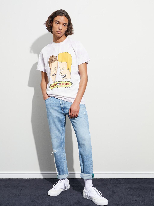 Tommy Jeans X Beavis And Butt-Head Tie-Dye Unisex T-Shirt