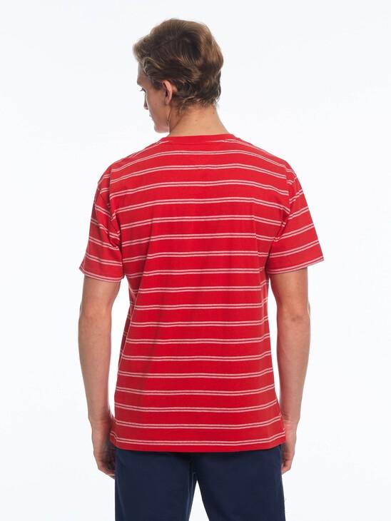 Tonal Logo Stripe T-Shirt