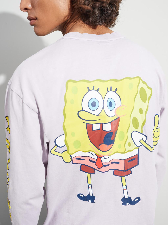Tommy Jeans X Spongebob Squarepants Long Sleeve Unisex T-Shirt