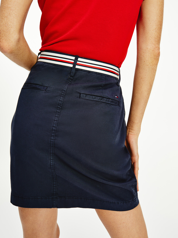 Rome Slim Short Skirt