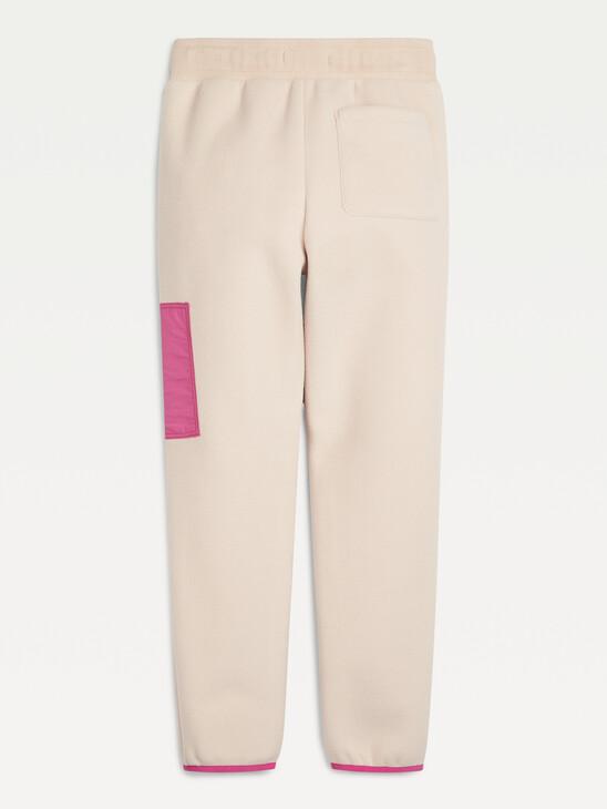 Soft Colour-Blocked Joggers