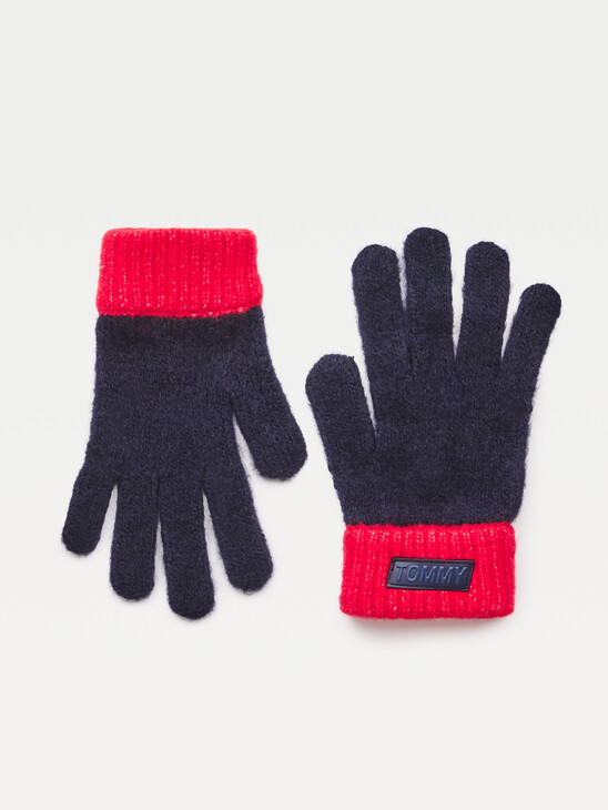 Youth Colour-Blocked Gloves