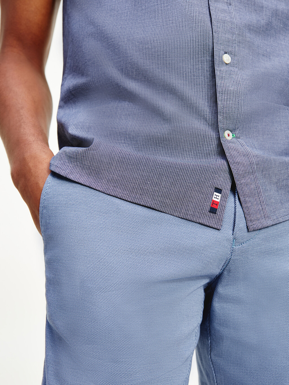 The Flex Slim Fit Pinstripe Shirt