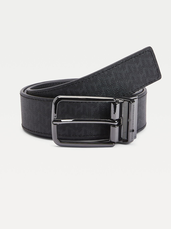 Technical Reversible Leather Belt