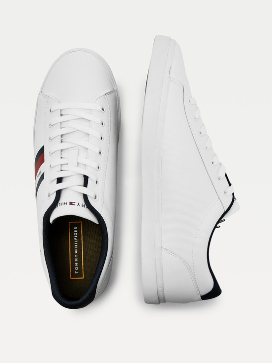 Essential Leather Vulcanised Trainers