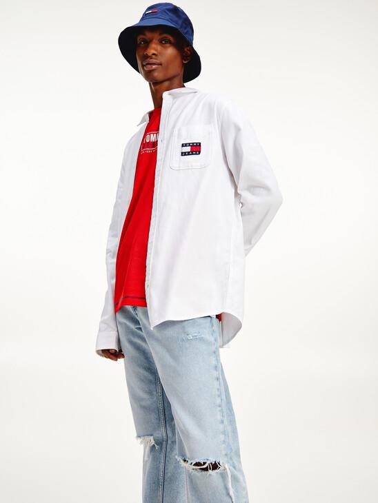 Badge Woven Shirt