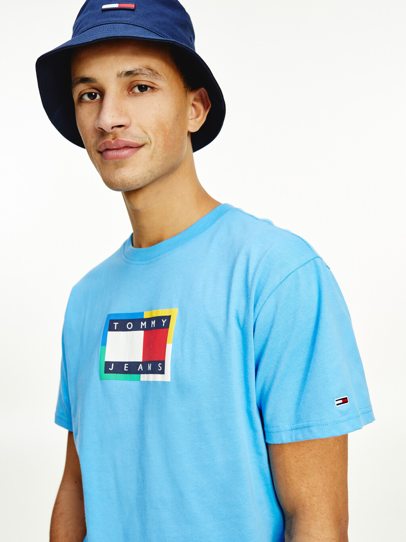 Tommy Logo Organic Cotton T-Shirt
