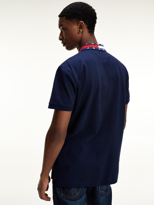 Flag Collar Cotton Regular Fit Polo