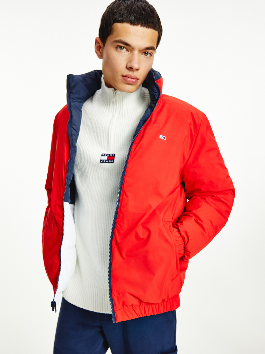 Reversible Recycled Puffer Jacket
