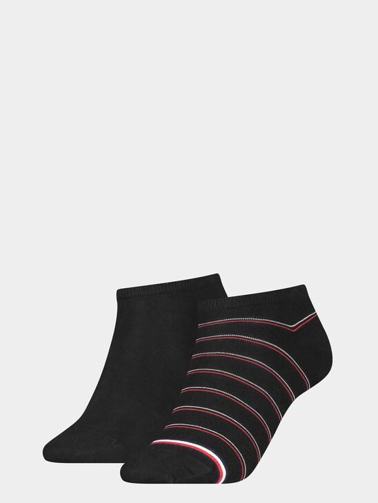 Pinstripe Sneaker Socks