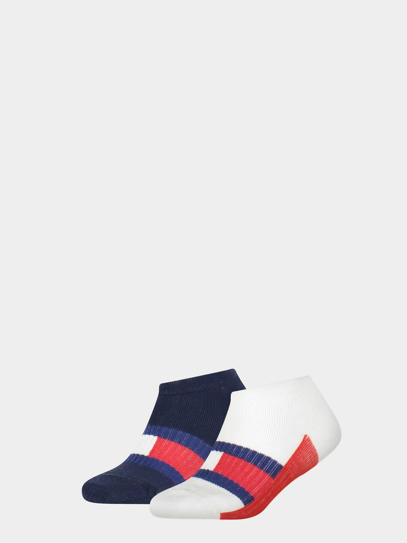 2-Pack  Tommy Flag Sneaker Socks