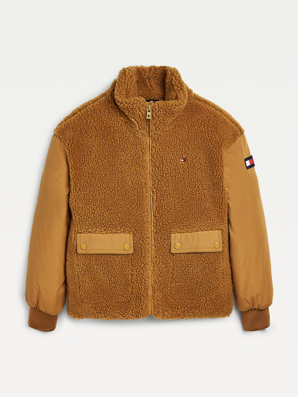 Sherpa Detail Jacket