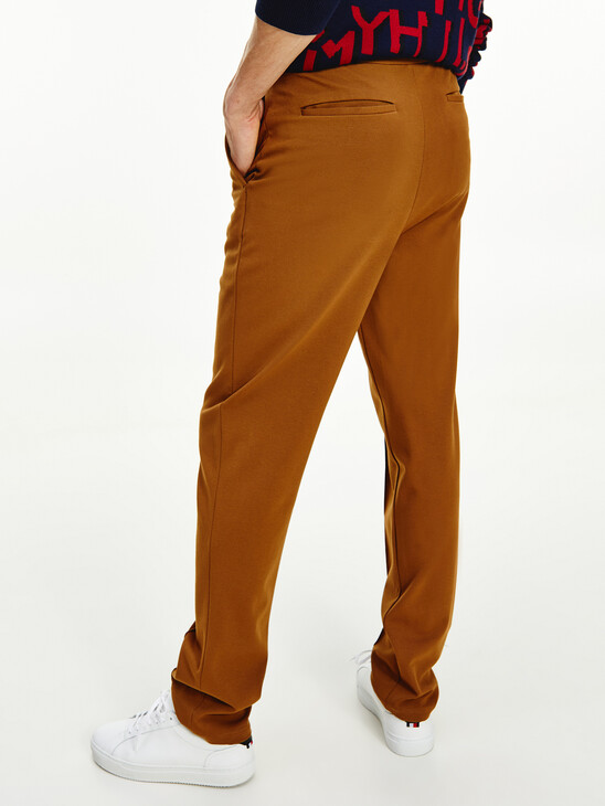 Pull-On Relaxed Trousers