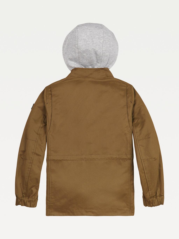 Suede Cotton Field Jacket