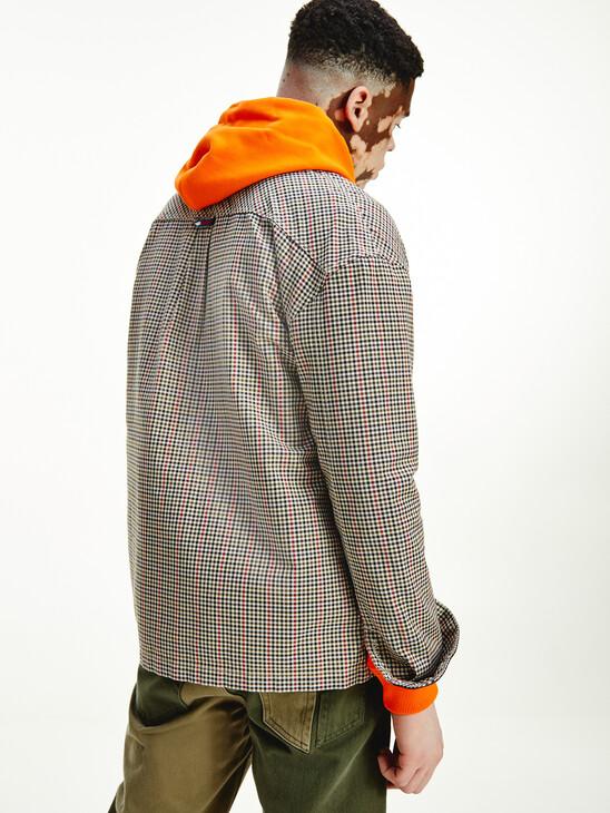 Tommy Badge Gingham Check Pocket Shirt