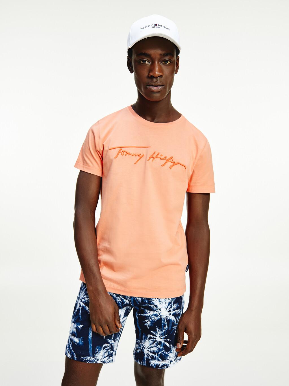 Organic Cotton Signature Logo T-Shirt