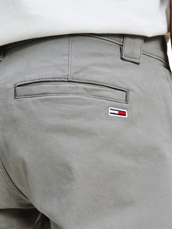 Scanton Slim Flag Patch Chinos