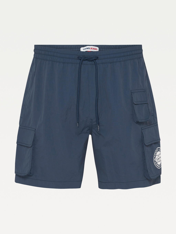 Cargo Drawstring Waist Shorts