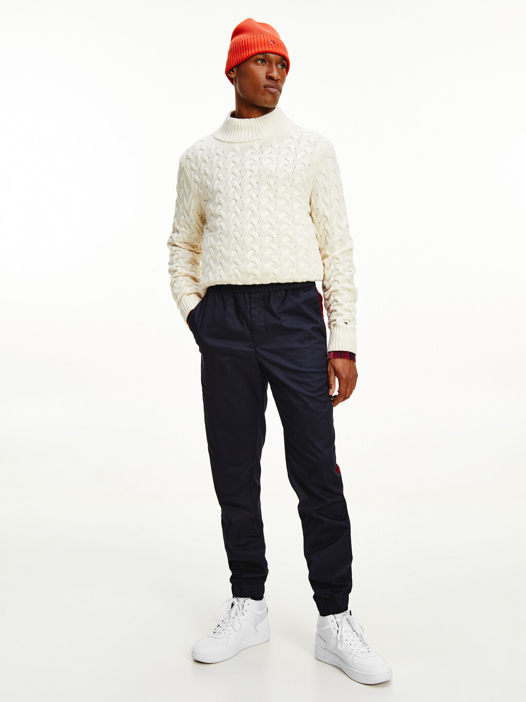 TH Tech Modern Relaxed Cuffed Chinos