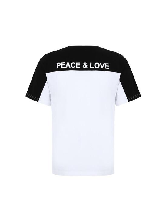 China 520 Couple Logo Embroidery T-Shirt