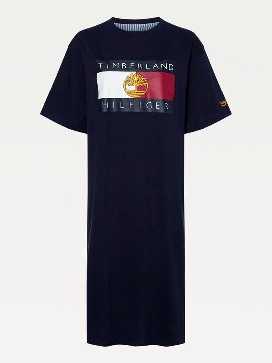 TOMMY X TIMBERLAND T-SHIRT DRESS
