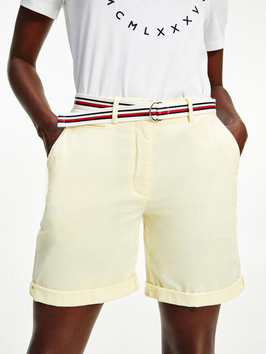 Signature Belt Chino Shorts