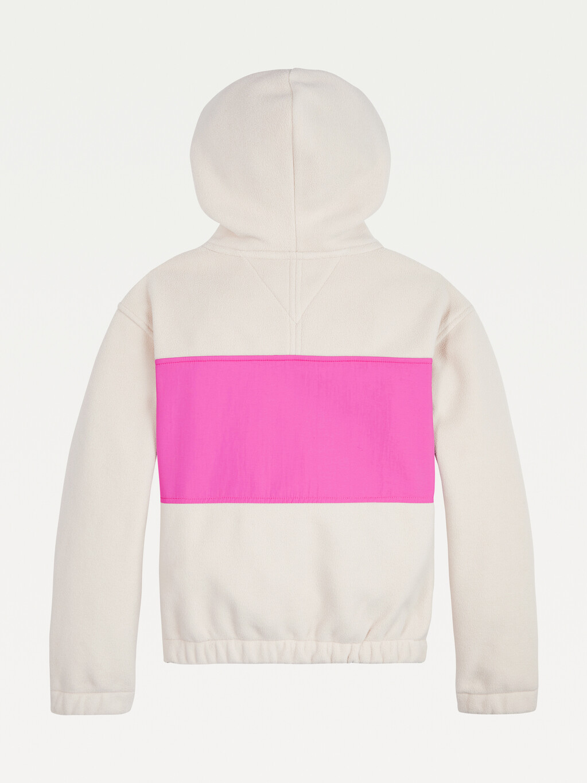 Soft Colour-Blocked Hoody