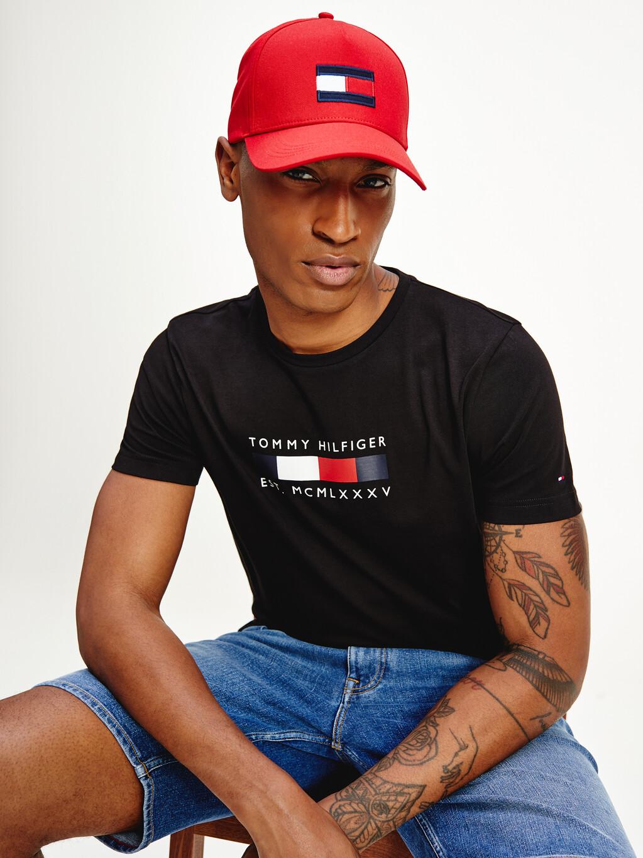 Tommy Hilfiger Logo Organic Cotton T-Shirt