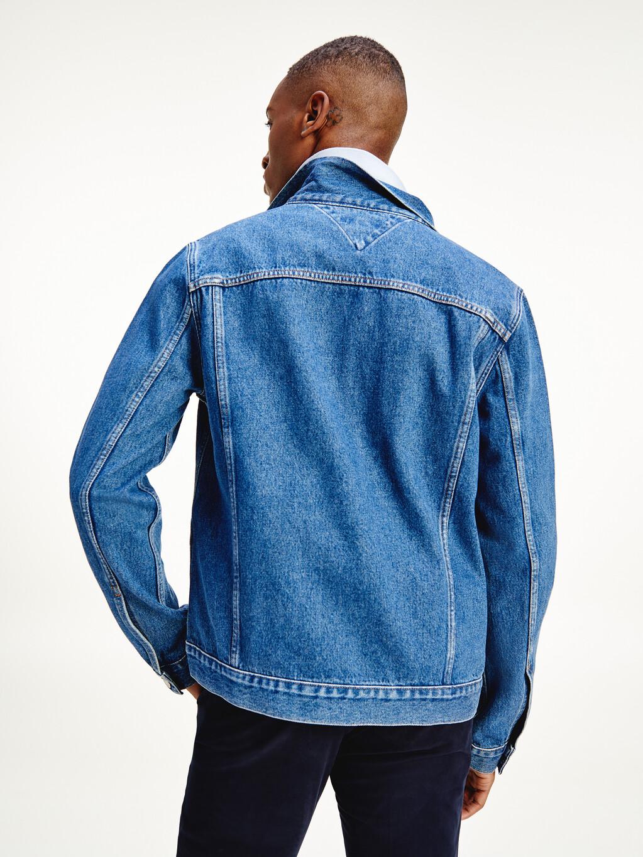 Organic Cotton Denim Trucker Jacket