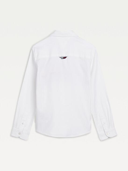 Front Logo Oxford Shirt
