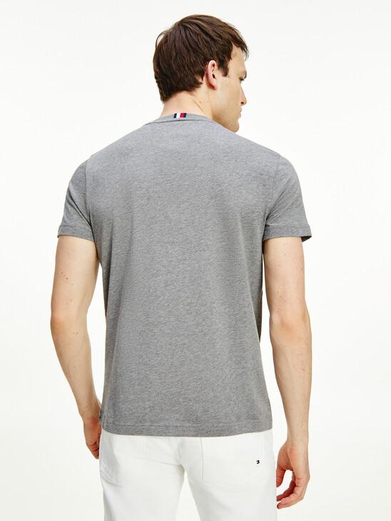 Essential Logo Print Organic Cotton T-Shirt