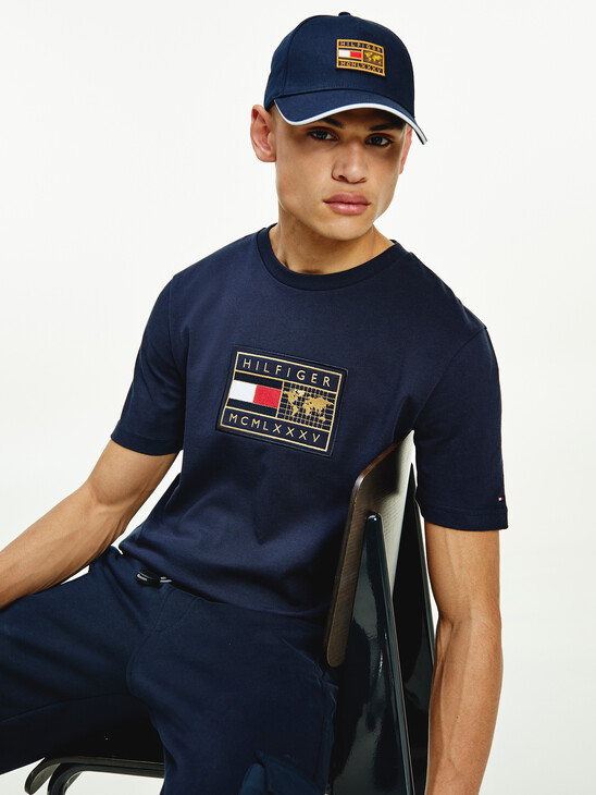 Tommy Icons Logo Relaxed Fit T-Shirt