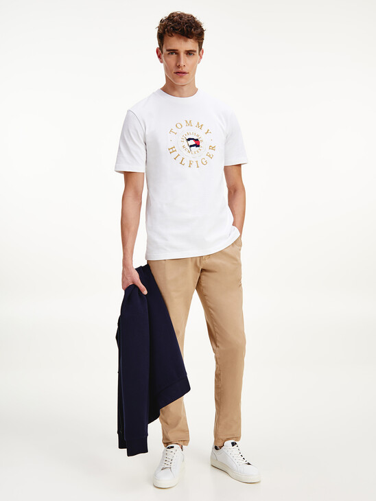 Tommy Icons Organic Cotton Jersey T-Shirt