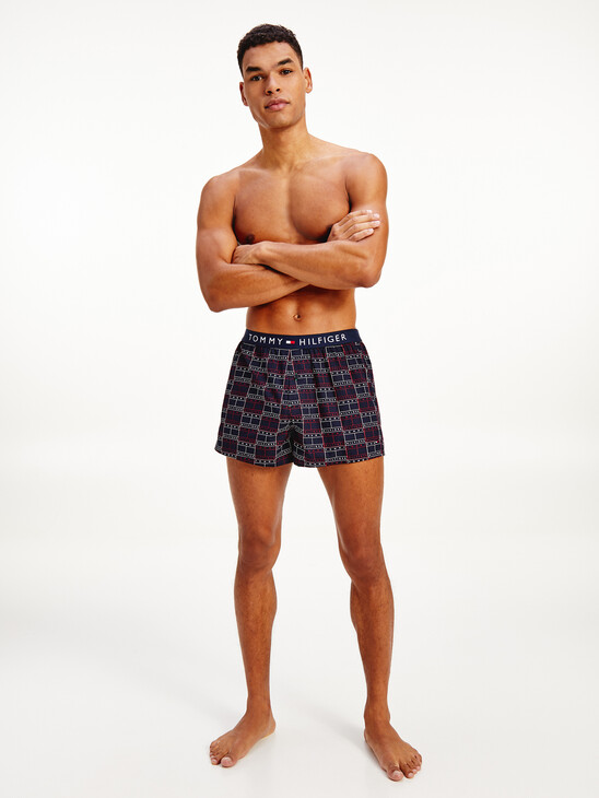 Logo Waistband Cotton Boxer Shorts