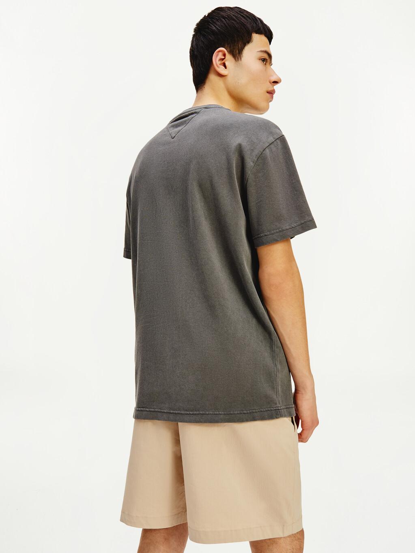 Tonal Flag Faded Organic Cotton T-Shirt